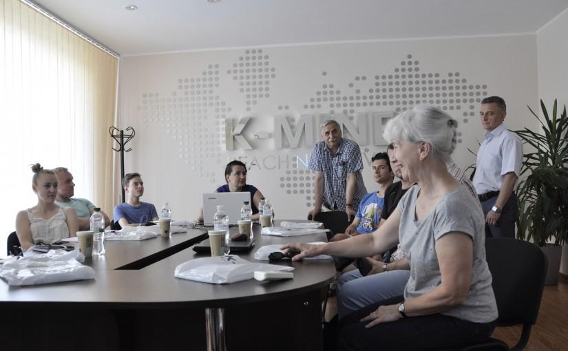 Научная встреча с гостями из Польши в офисе K-MINE