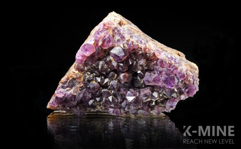 Рубрика «K-MINE: Minerals». Аметист